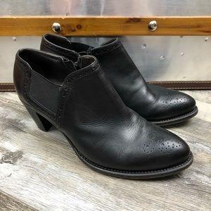 Attilio Giusti Leombruni Leather Ankle Booties